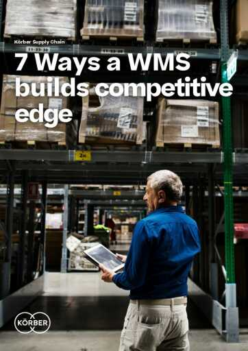 7 Ways a WMS Builds a Competitive Edge eBook