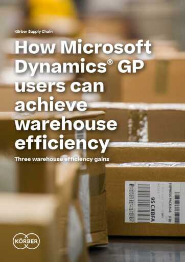 3 Warehouse Efficiency Gains for Microsoft Dynamics GP